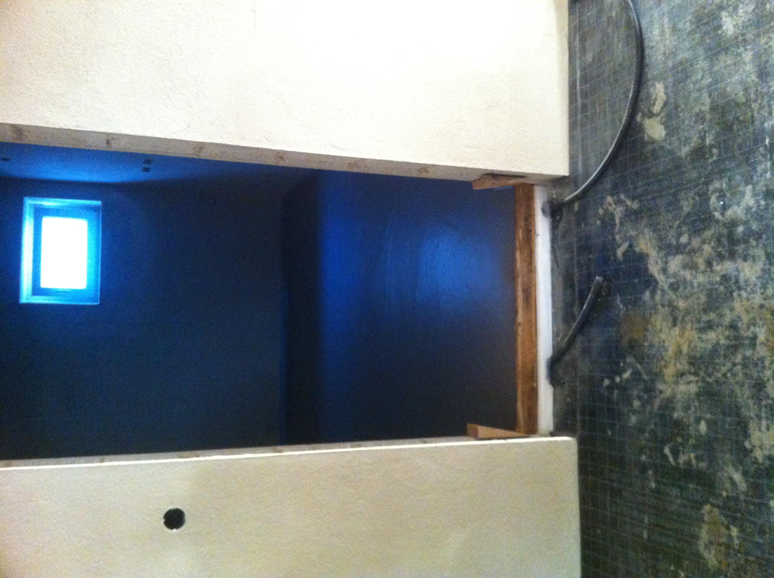 estrich im anschlussraum und kellerraum unser hausbau festgehalten im blog. Black Bedroom Furniture Sets. Home Design Ideas